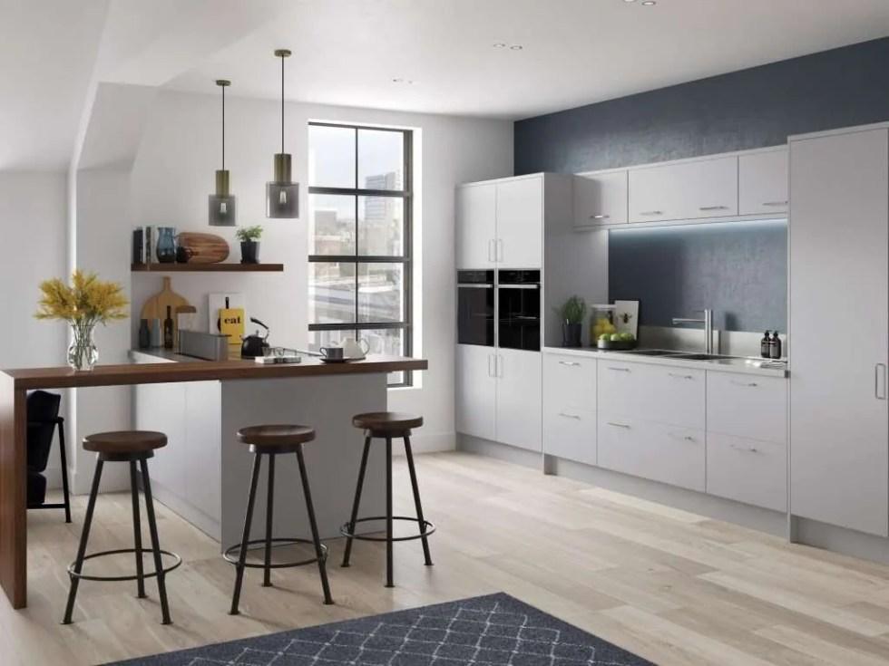 Cutler SERICA® Light Grey Kitchen