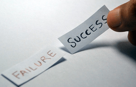 Failure success via pixabay