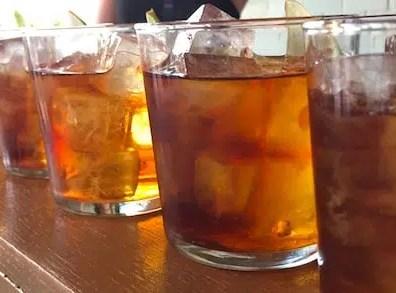 Pump Room signature drinks