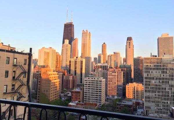 Chicago skyline from Public Chicago