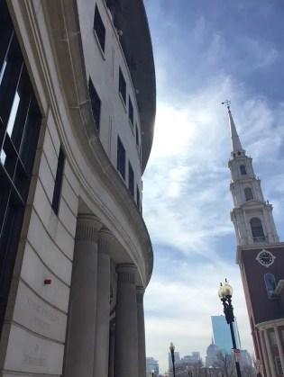 Beautiful nearby Boston architecture.