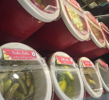 So many pickles!!