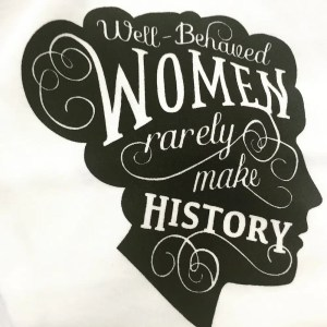 My new tee from the Women's Museum
