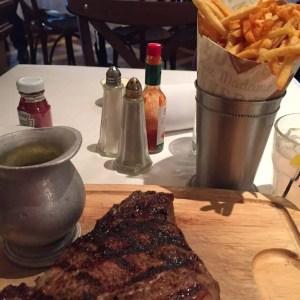 Luke's steak with Bearnaise