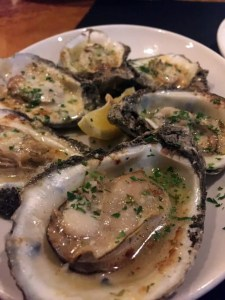 Trenasse's delicious oysters
