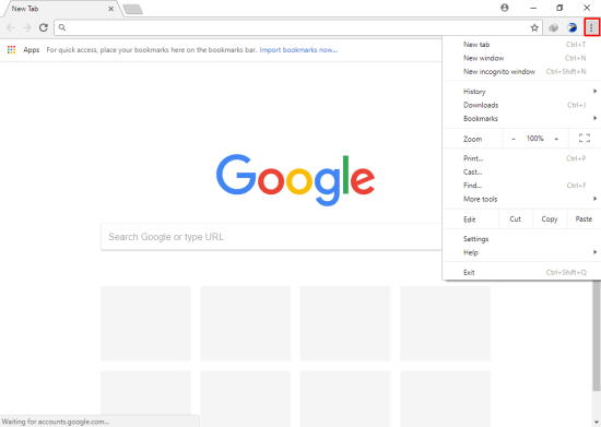 how to open google chrome app store