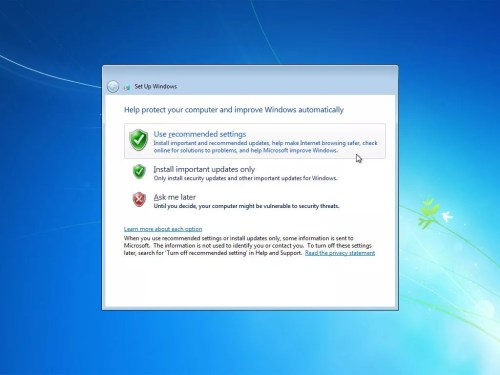 how to install windows 7 step by step