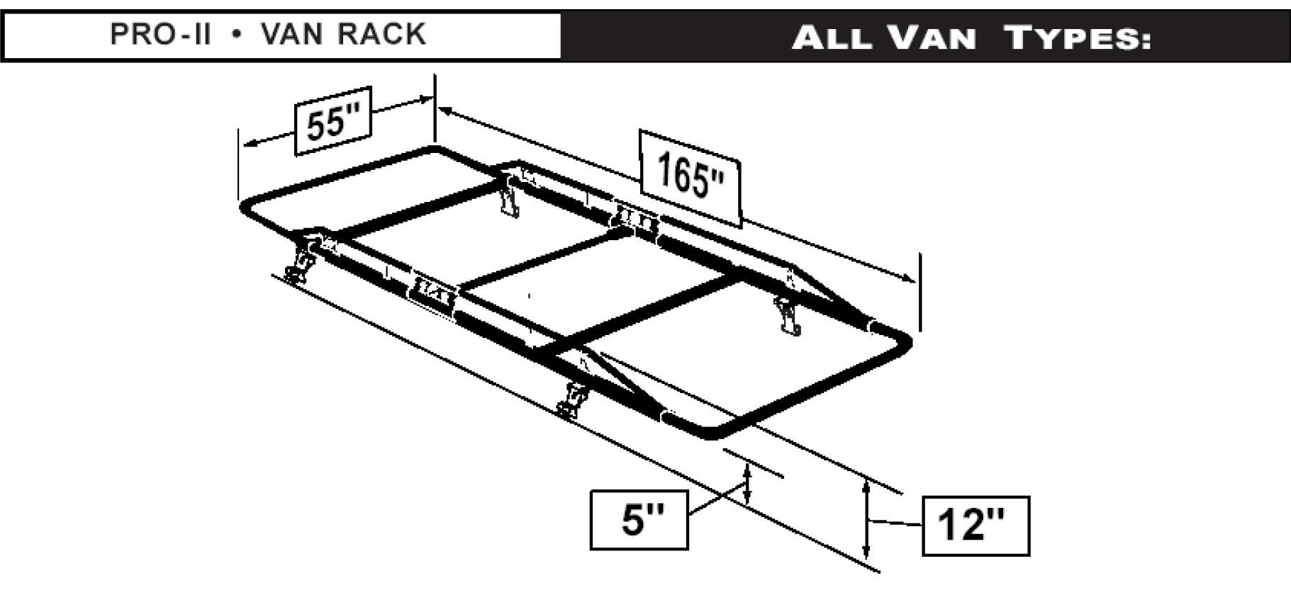 Heavy Duty Pro Ii Van Rack