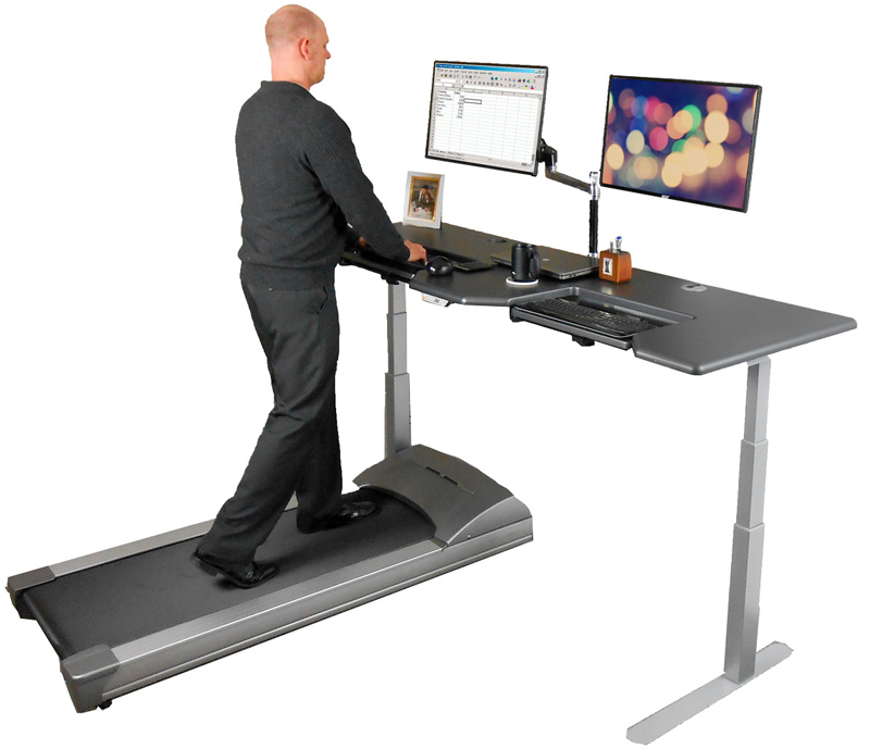 Everyone can benefit from using a treadmill desk
