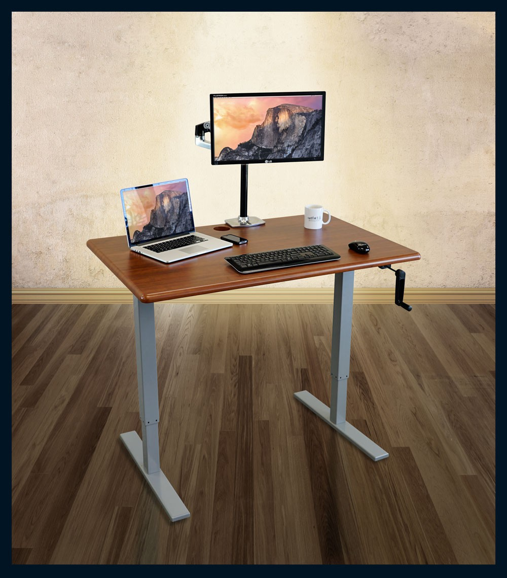 iMovR ThermoDesk Ellure Manual Stand Up Desk Review