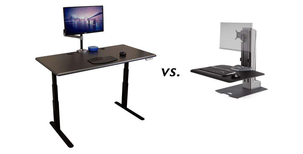 What to Choose Standing Desk vs SitStand Converter