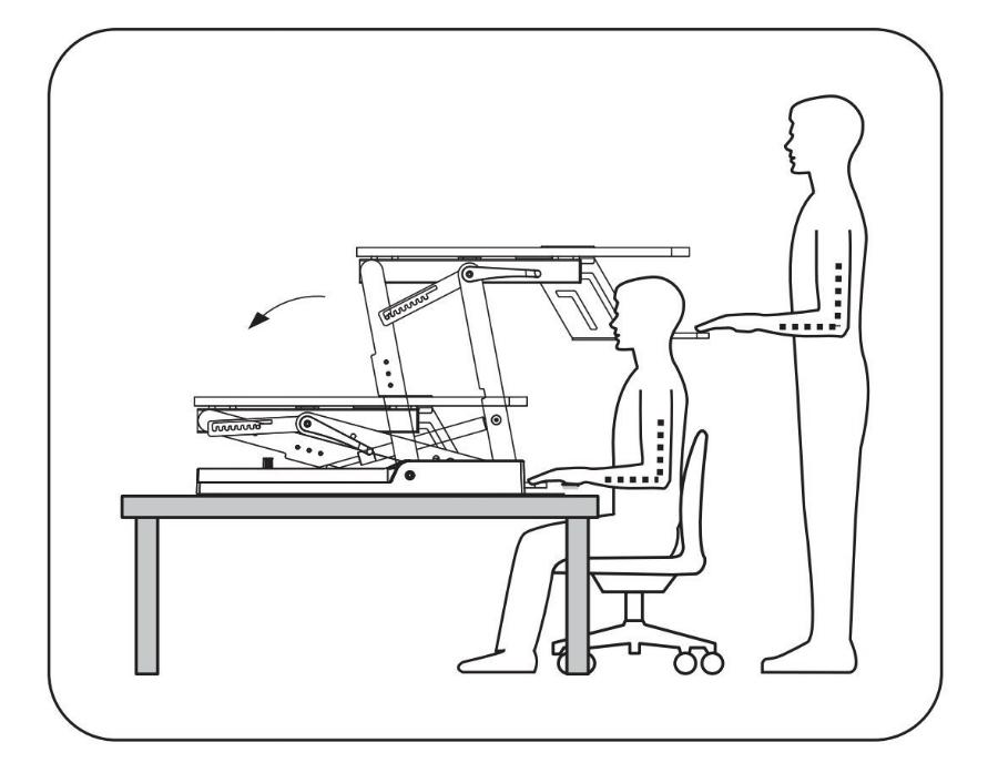 High Supply Standing Desk Converter