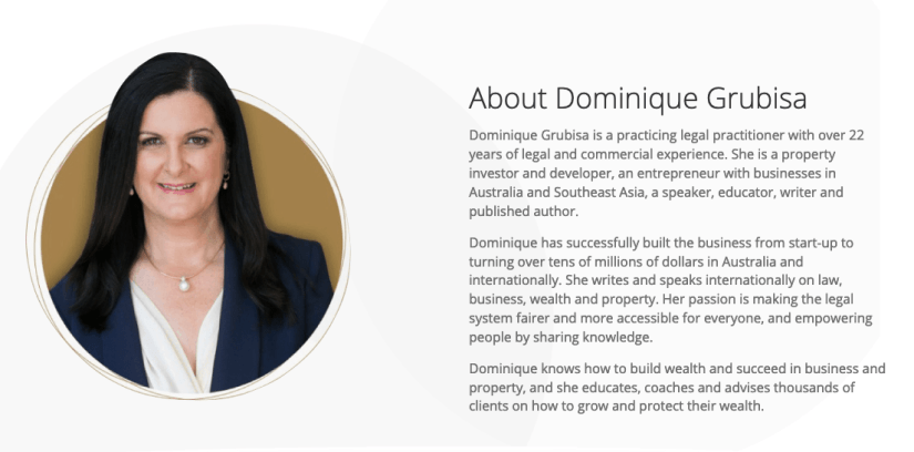Dominique Grubisa and the DG Institute Review