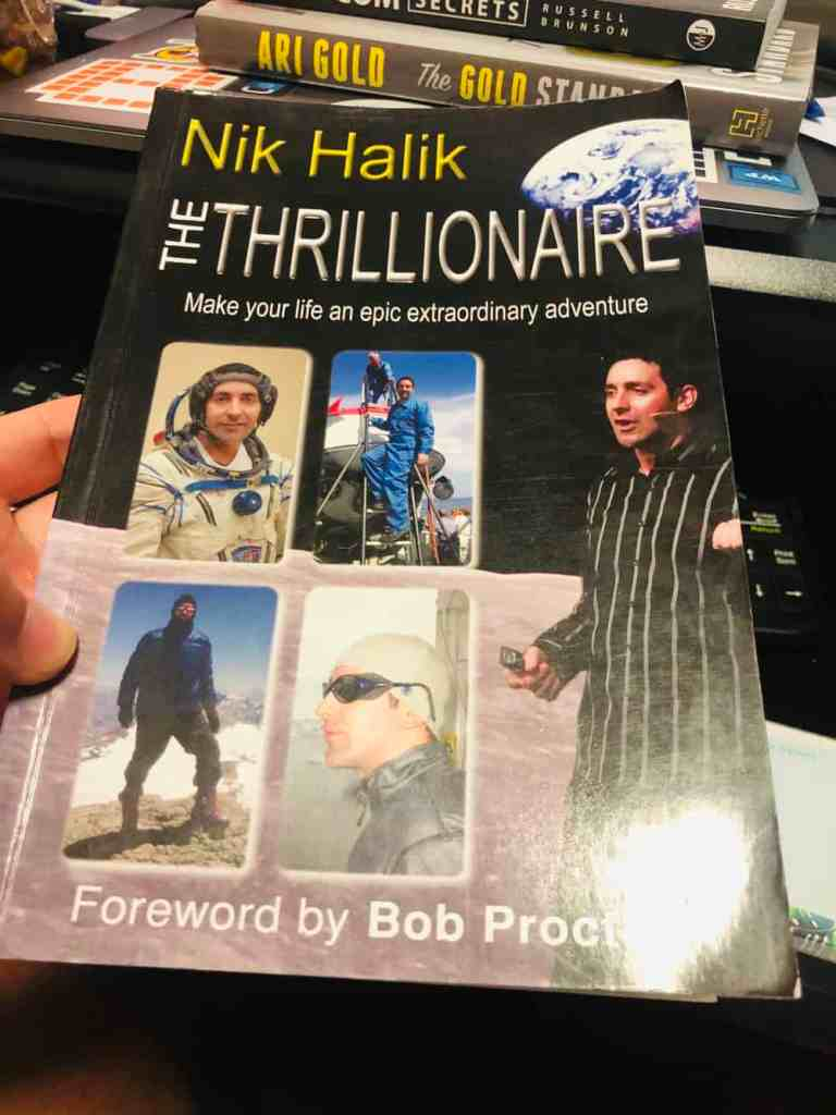 The Thrillionaire Nik Halik Book Summary