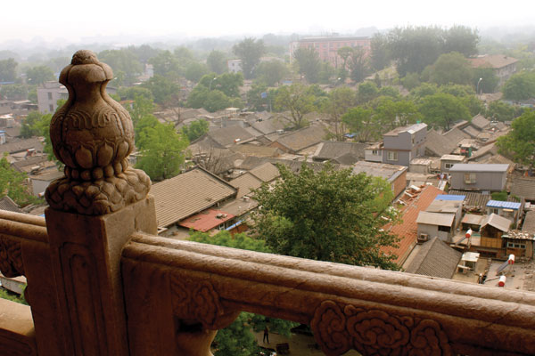 The narrow streets of Beijing