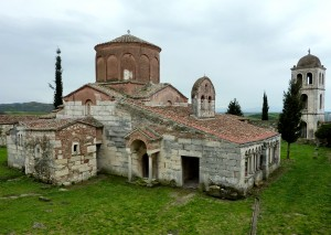 Travel, Albania, Apollonia monastery church - CWA 63
