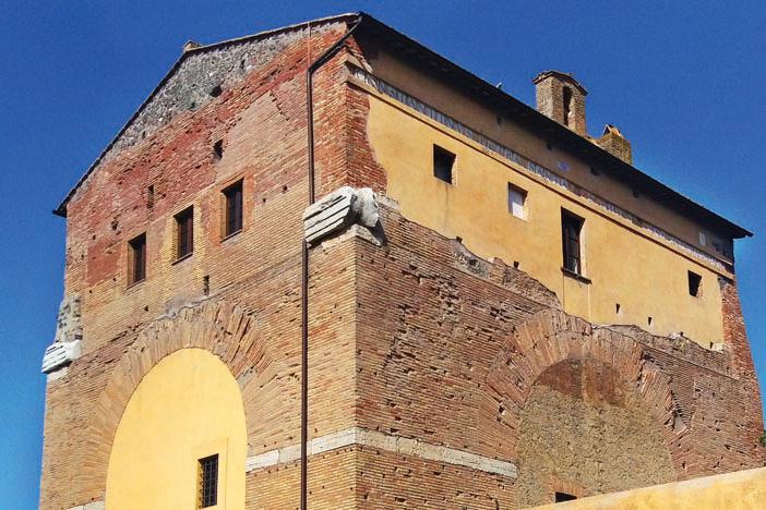 Travel: The Arch of Malborghetto, Italy