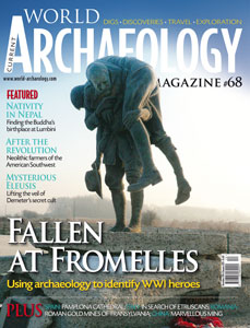 Issue 68 of Current World Archaeology magazine.