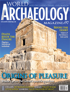 Cover of CWA 97, tomb of Cyrus the Great at Pasargadae