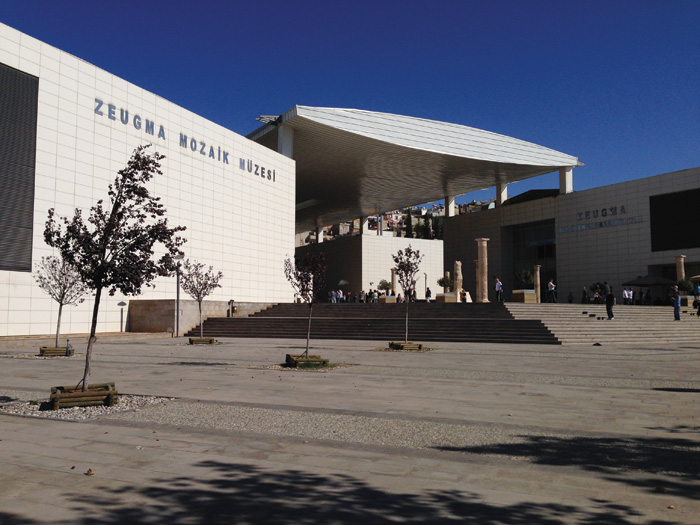 External view of the Zeugma Mosaic Museum