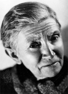 Black and white portrait photo of Madeleine Colani