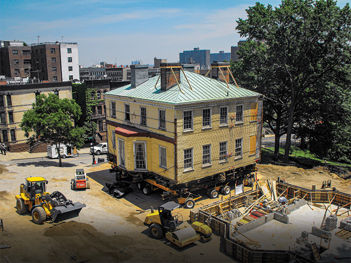 Hamilton Grange moving to new location and new foundations