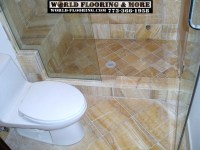 Custom Cultured Marble Shower mosaic tile power jet ...