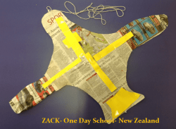 Zach, One Day School, New Zealand, 2013