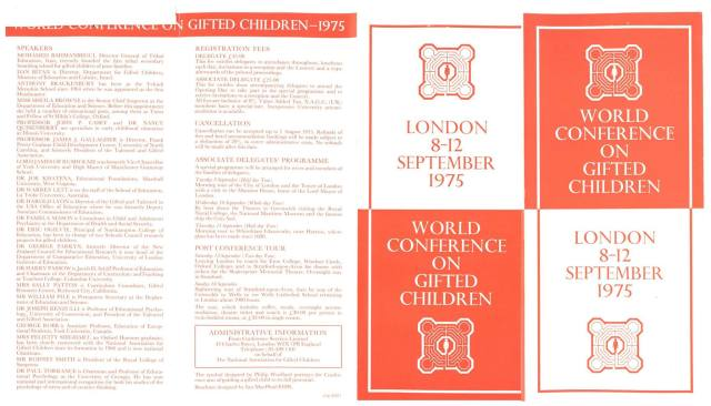 1975 London Program 1