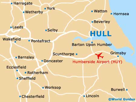 Image result for the deep in hull on a map