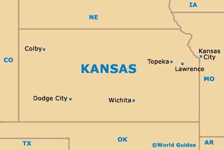 Wichita Maps and Orientation Wichita Kansas KS USA