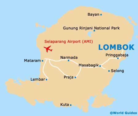 Lombok Tourist Attractions And Sightseeing Lombok West Nusa Tenggara Indonesia
