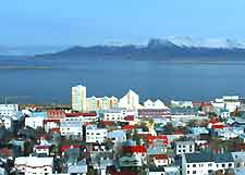 Reykjavik cityscape picture