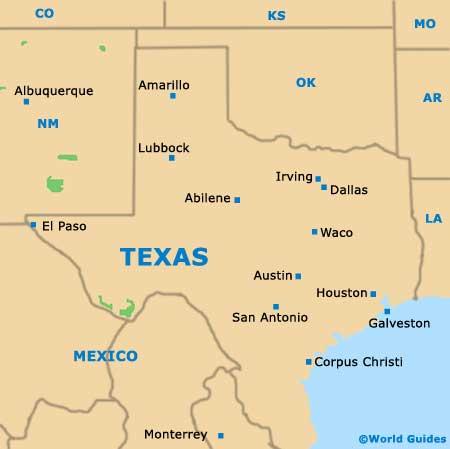 Houston Maps And Orientation Houston Texas Tx Usa
