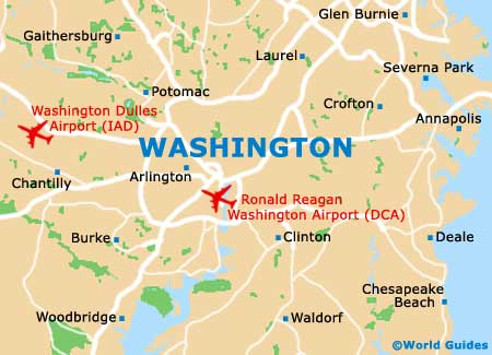 Washington Maps and Orientation Washington District of