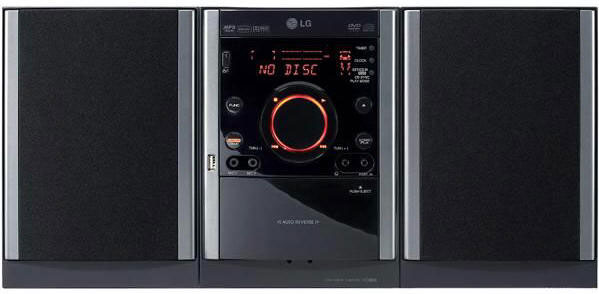 LG XD63 Region Free Micro System, Region Free Home Theatre