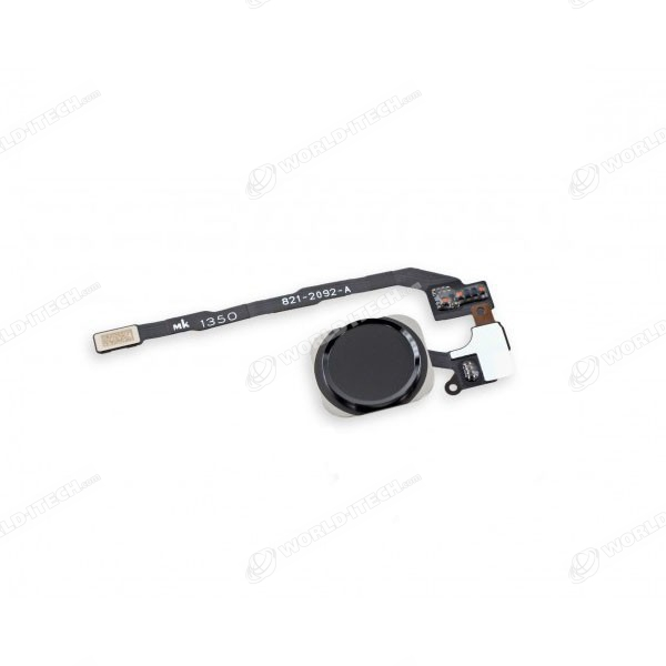 Bouton home complet noir iPhone 5S SE