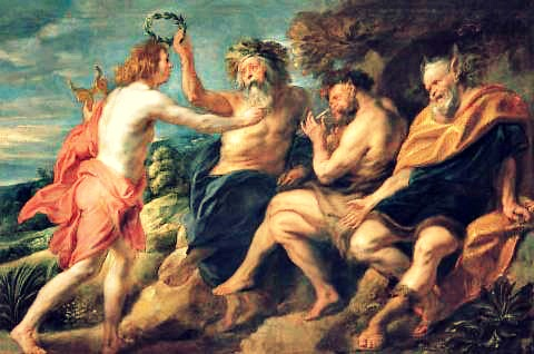 Image result for MUSIC AND GREEK GODS