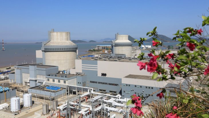 First AP1000 unit begins generating power  World Nuclear News