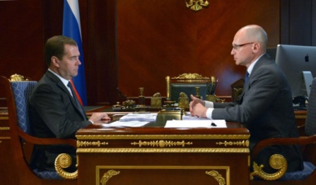 Medvedev and Kiriyenko, June 2014 (460x269)