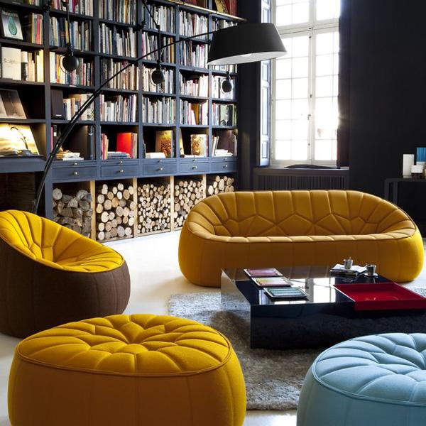 Canap Fauteuil Pouf Ottoman Pour Cinna Par Le Designer