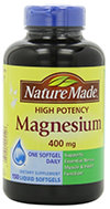 Nature Made alta potência Magnésio