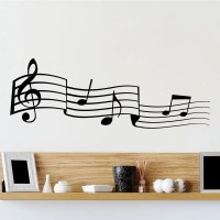 Musical Notes Wall Sticker - World of Wall Stickers