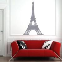 Eiffel Tower Paris Wall Sticker - World of Wall Stickers