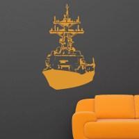 Ship Boat Wall Sticker - World of Wall Stickers