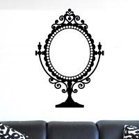Decorative Vintage Mirror Design Wall Sticker - World of ...