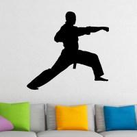Martial Arts Punch Karate Kung Fu Wall Sticker - World of ...