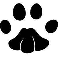 Animal Paw Print Wall Sticker