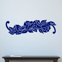 Simple Flower Decal Wall Sticker - World of Wall Stickers