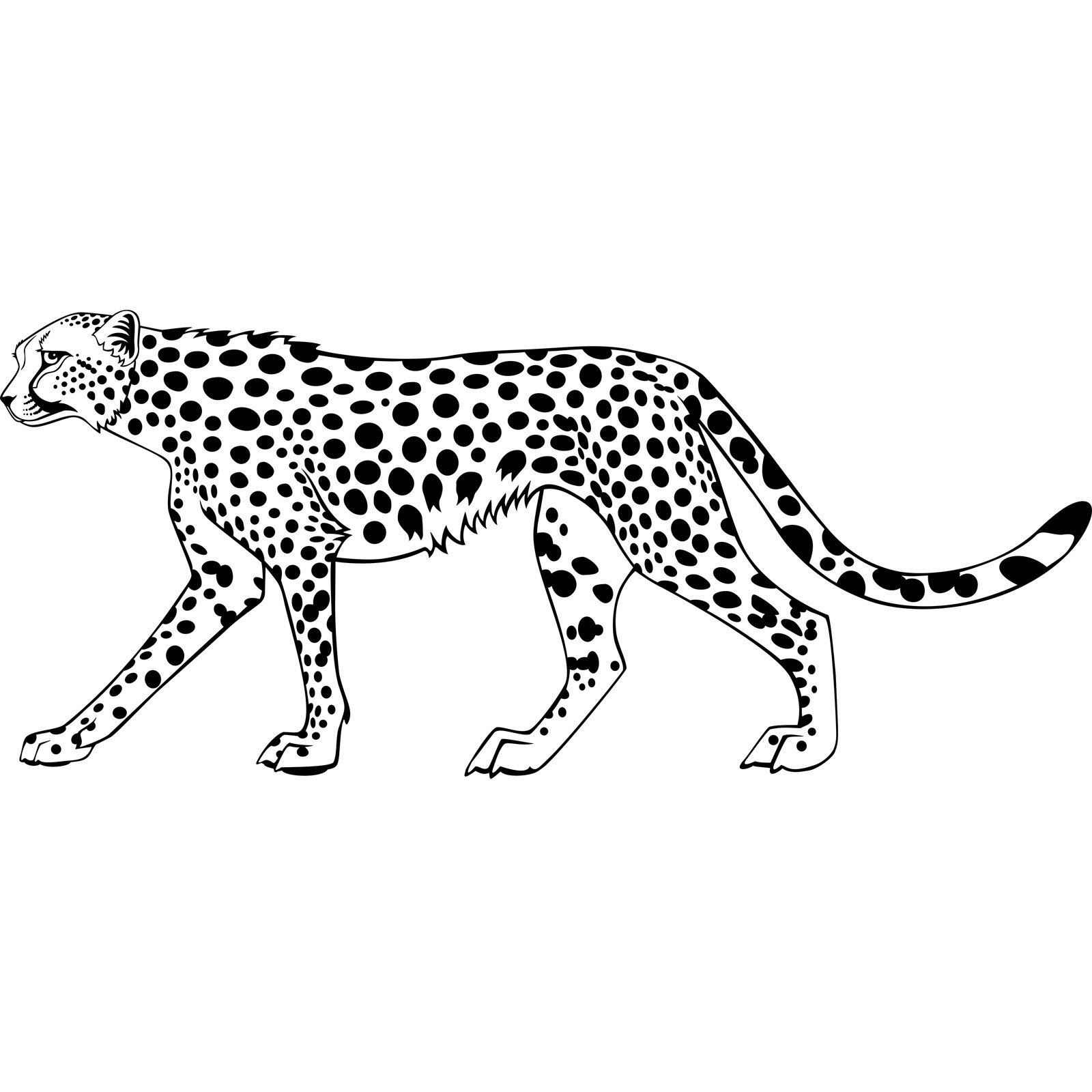 Leopard Big Cat Wall Sticker
